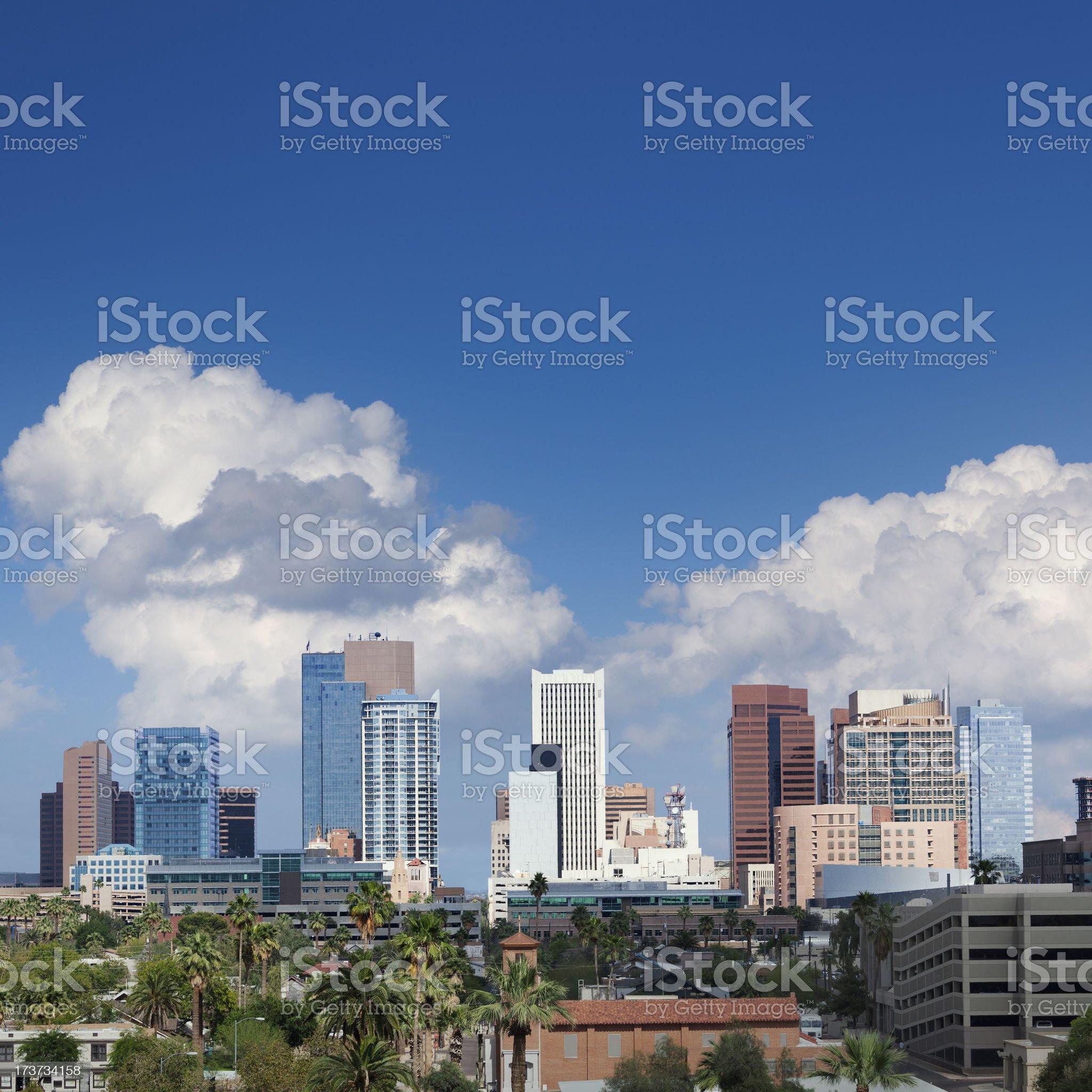 Phoenix skyline royalty-free stock photo