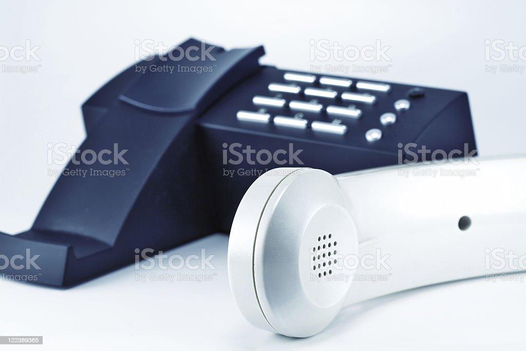 Phone and handset stock photo
