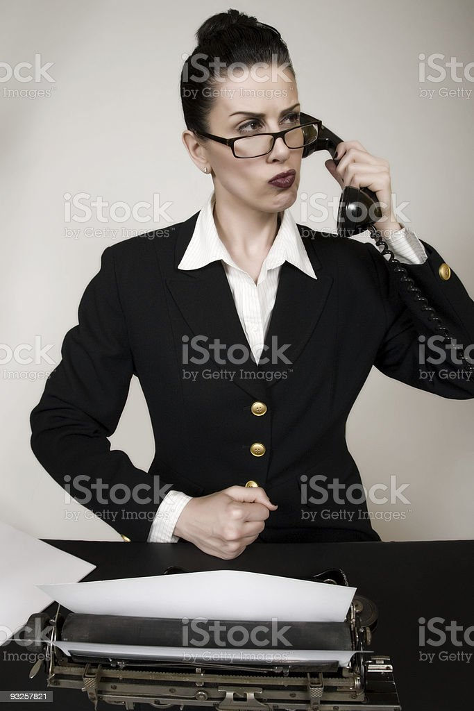 Phone Argument royalty-free stock photo