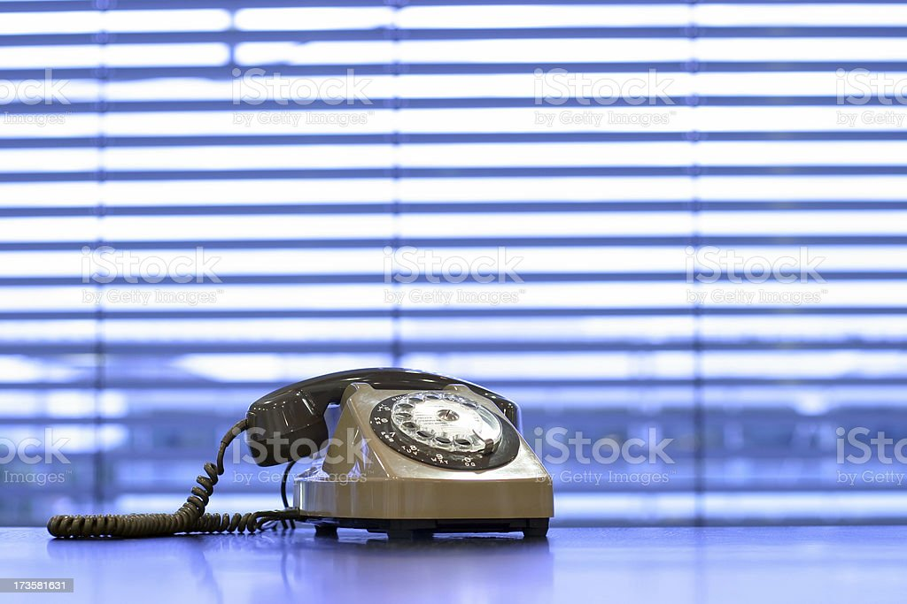 Phone blues royalty-free stock photo