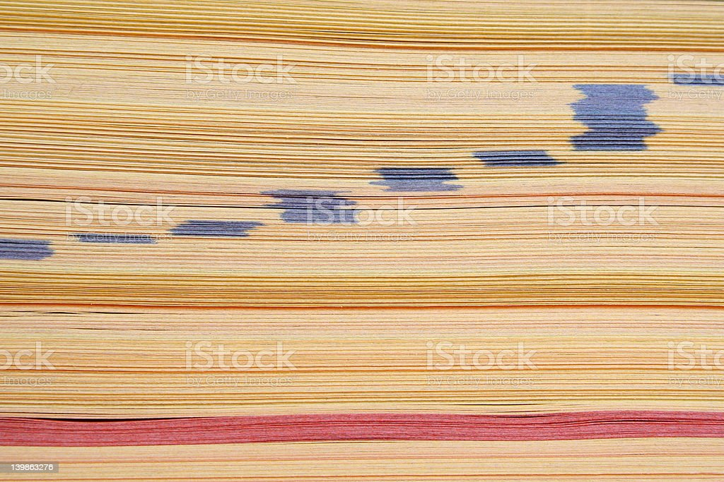 Phone Book Abstract stock photo