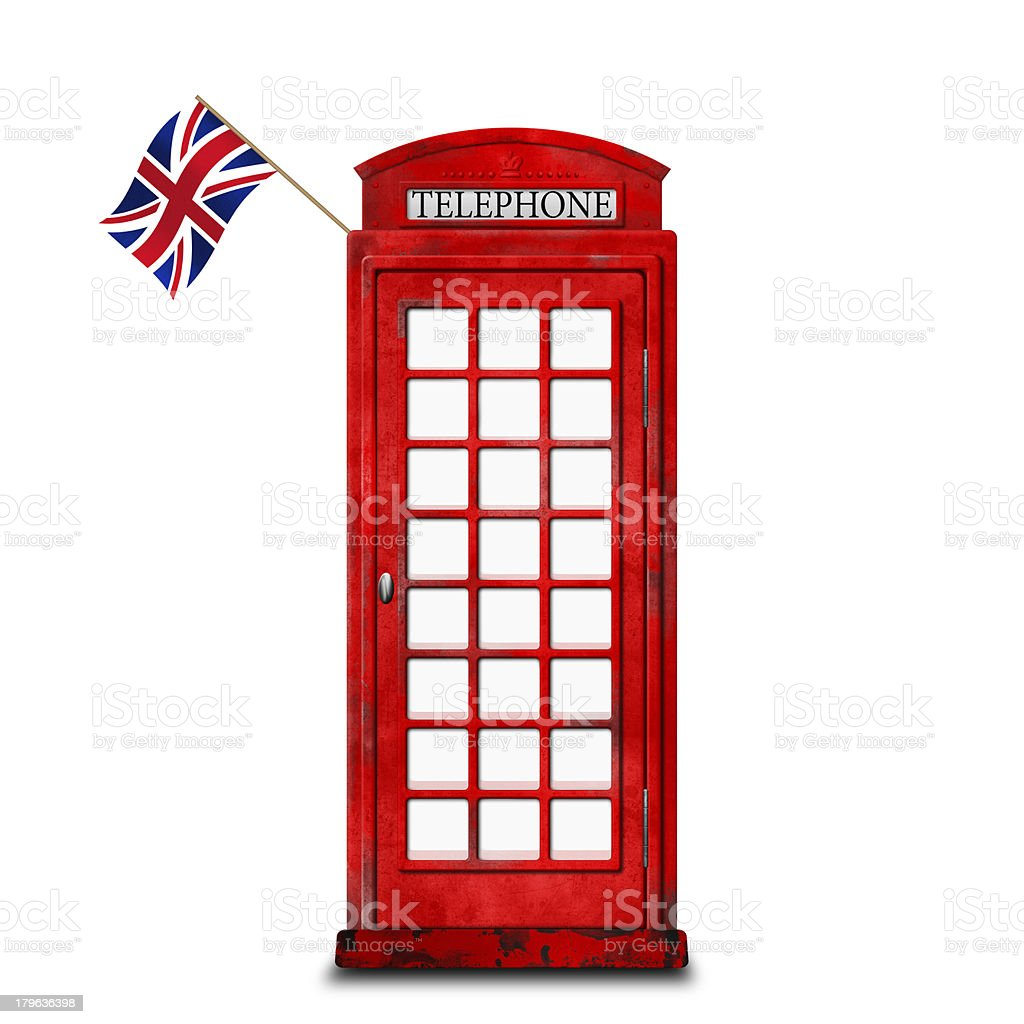 Phone box royalty-free stock photo