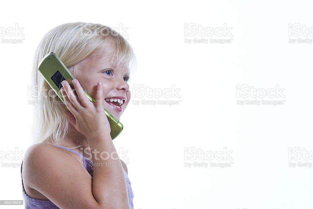 Telefonanruf Lizenzfreies stock-foto