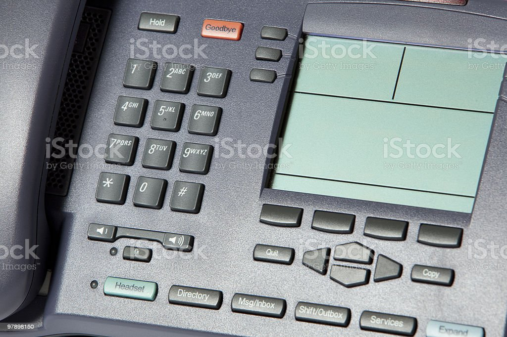 Phone Close up stock photo