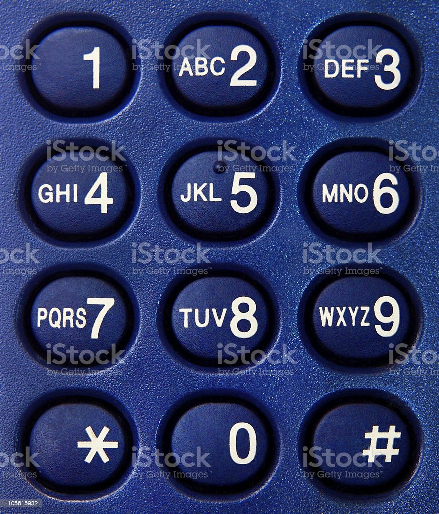 Phone dial numbers symbols texture royalty-free stock photo