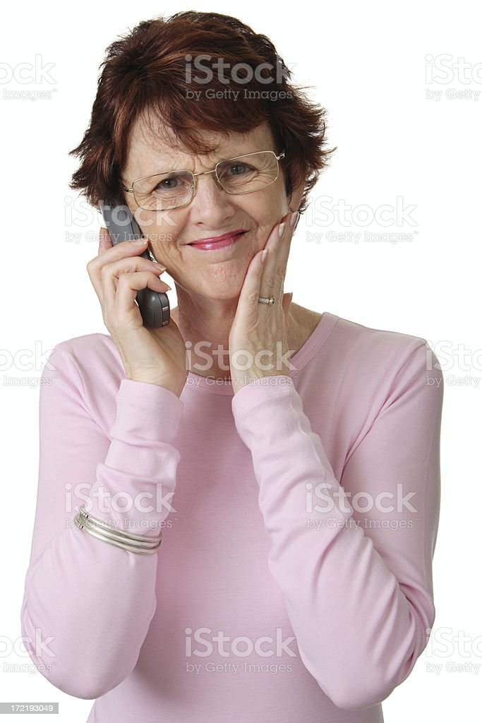 Phone Frustration, royalty-free stock photo