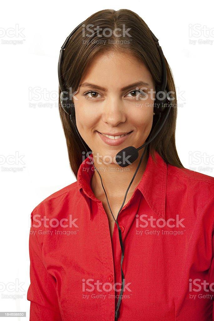 Phone girl royalty-free stock photo