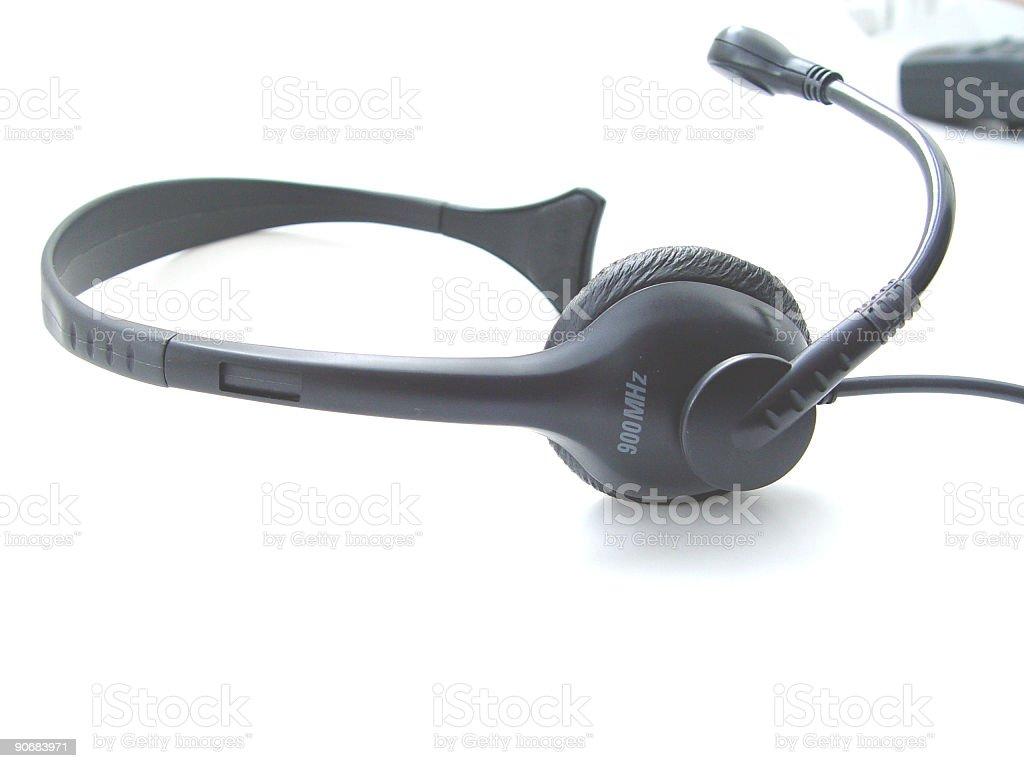 Phone Headset royalty-free stock photo