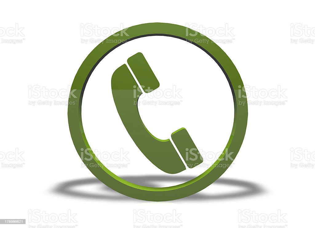 Phone icon royalty-free stock photo