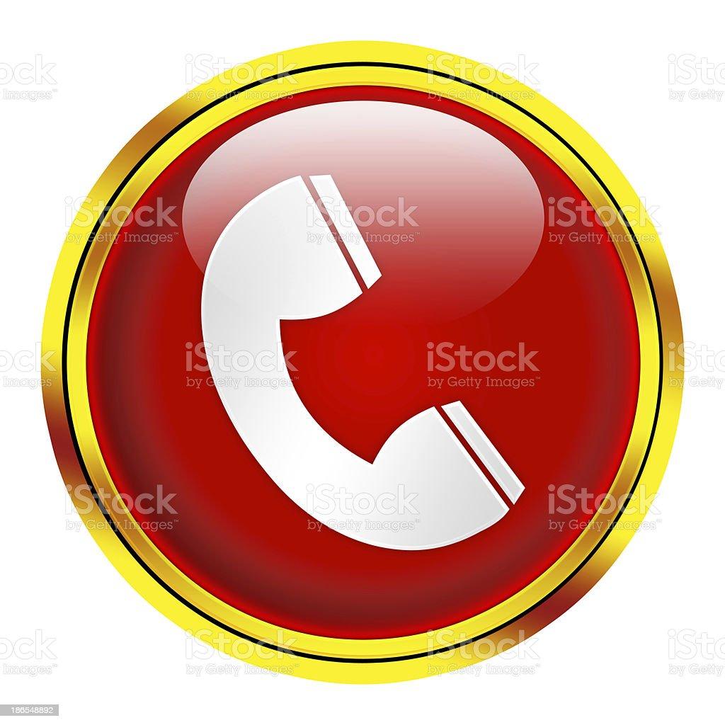 phone icon royalty-free stock photo