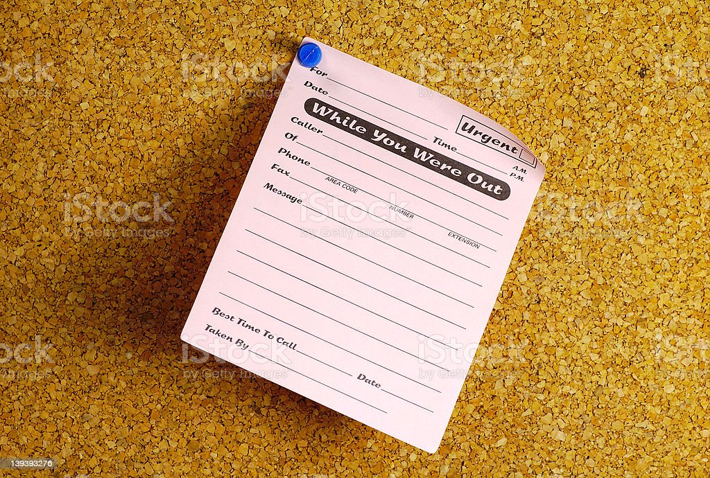 Phone Message royalty-free stock photo