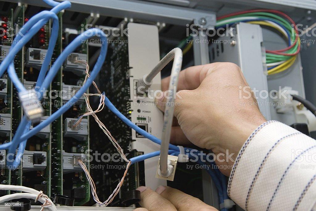 Phone Network Tech royalty-free stock photo