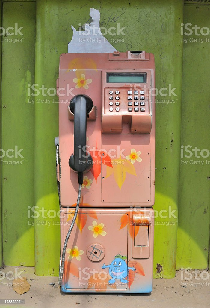 Phone royalty-free stock photo