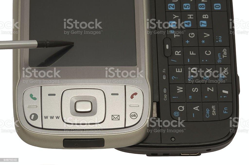 MDA phone royalty-free stock photo