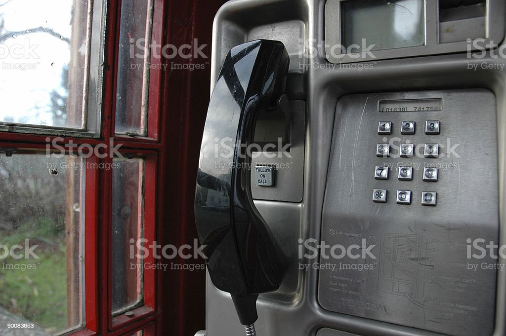 phone receiver royalty-free stock photo
