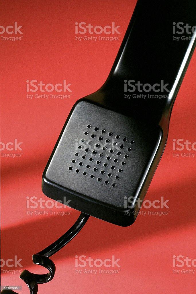 Receptor de teléfono foto de stock libre de derechos