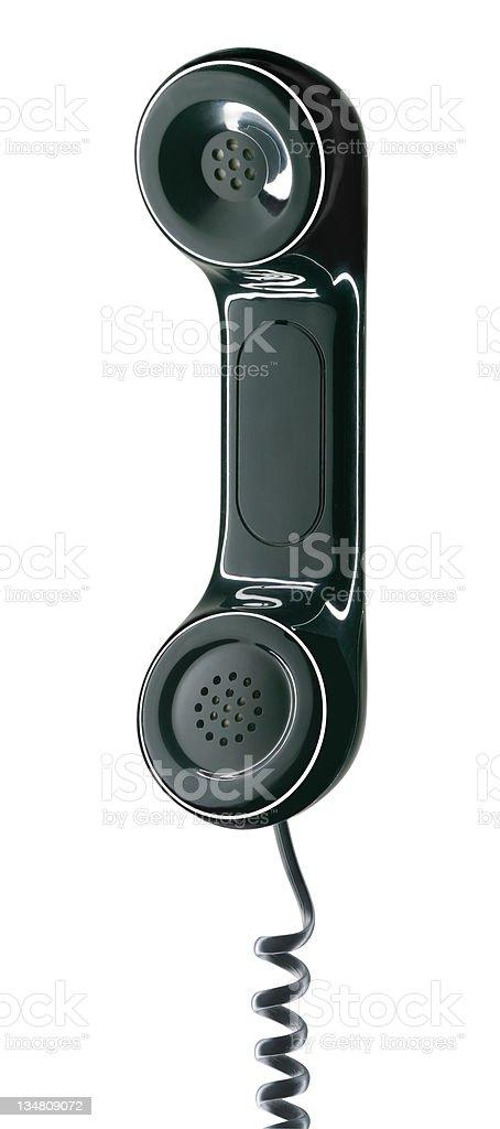 Phone receiver XLarge royalty-free stock photo
