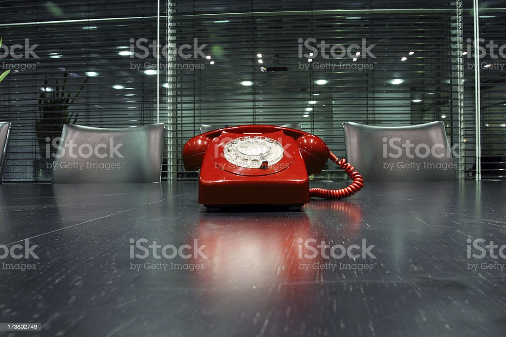 Phone reflections royalty-free stock photo