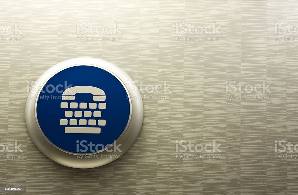 phone sign royalty-free stock photo