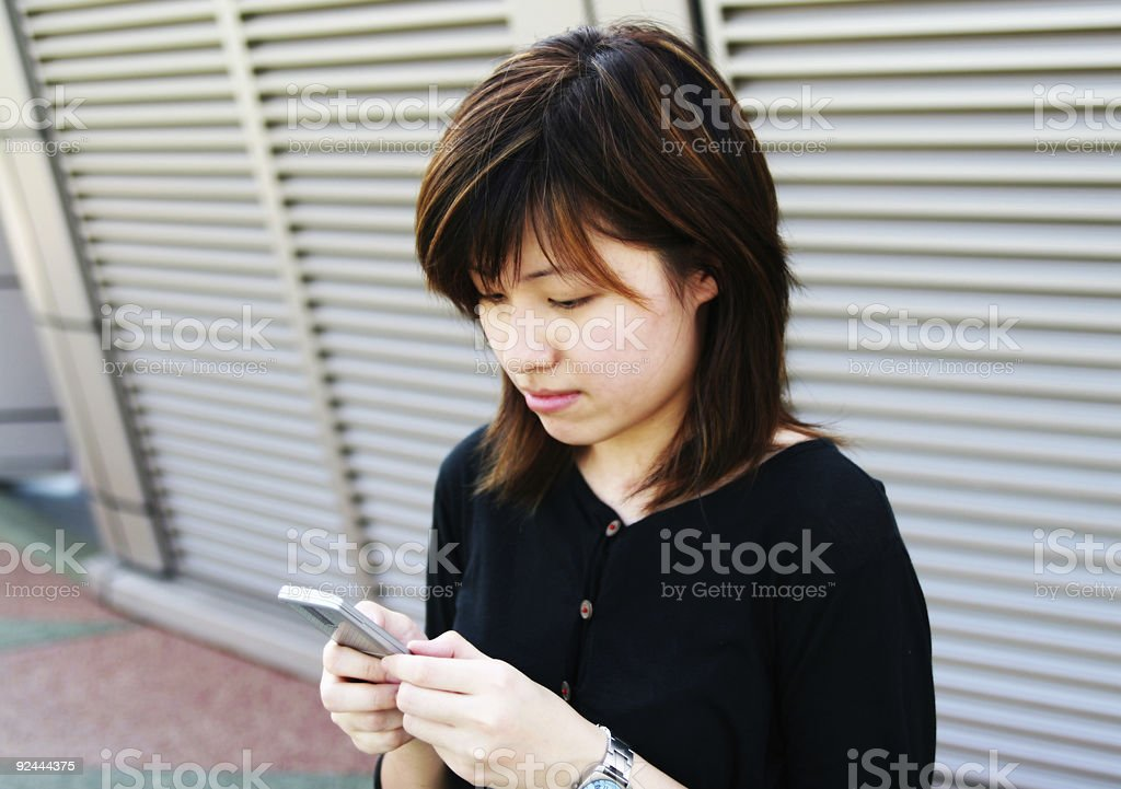 Phone SMS royalty-free stock photo