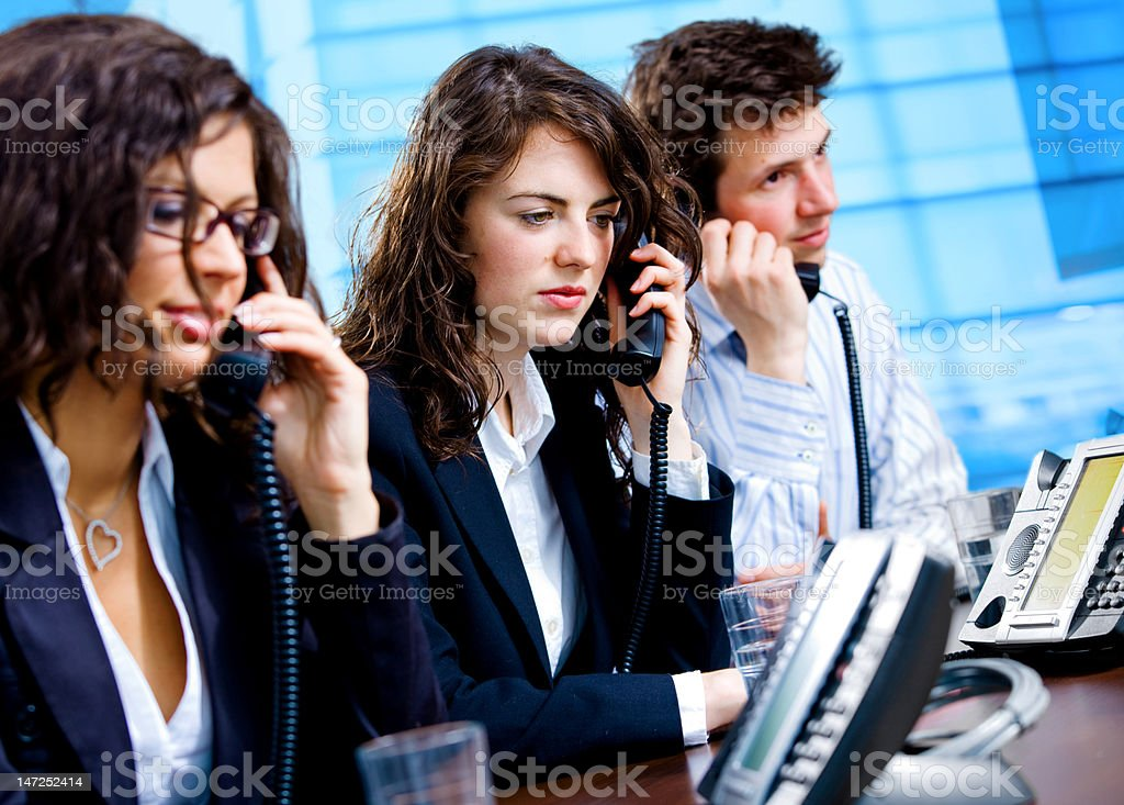 Phone support helpdesk royalty-free stock photo