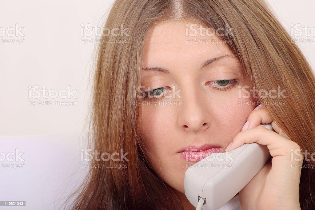 Telefon Rozmowa zbiór zdjęć royalty-free