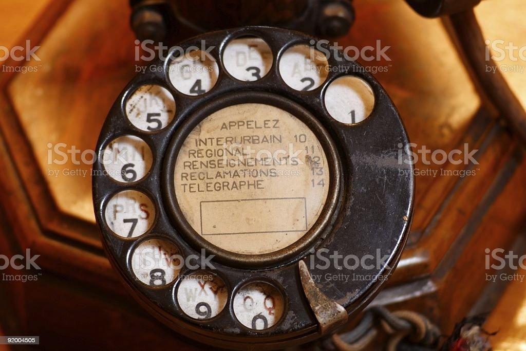 phone wheel stock photo