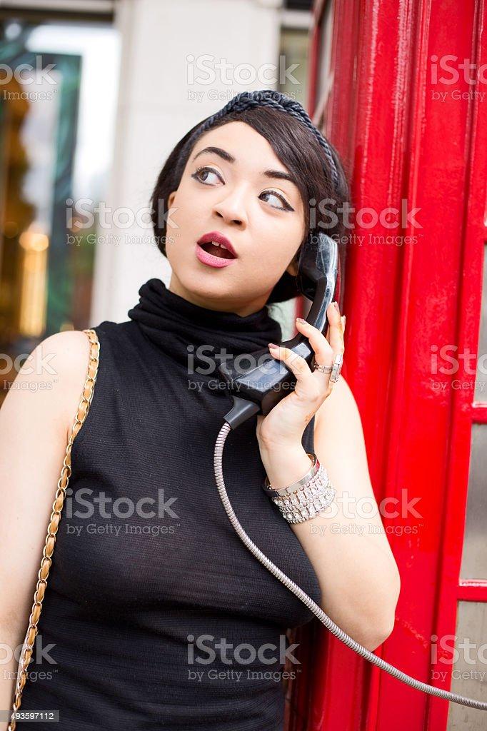 phonebox royalty-free stock photo