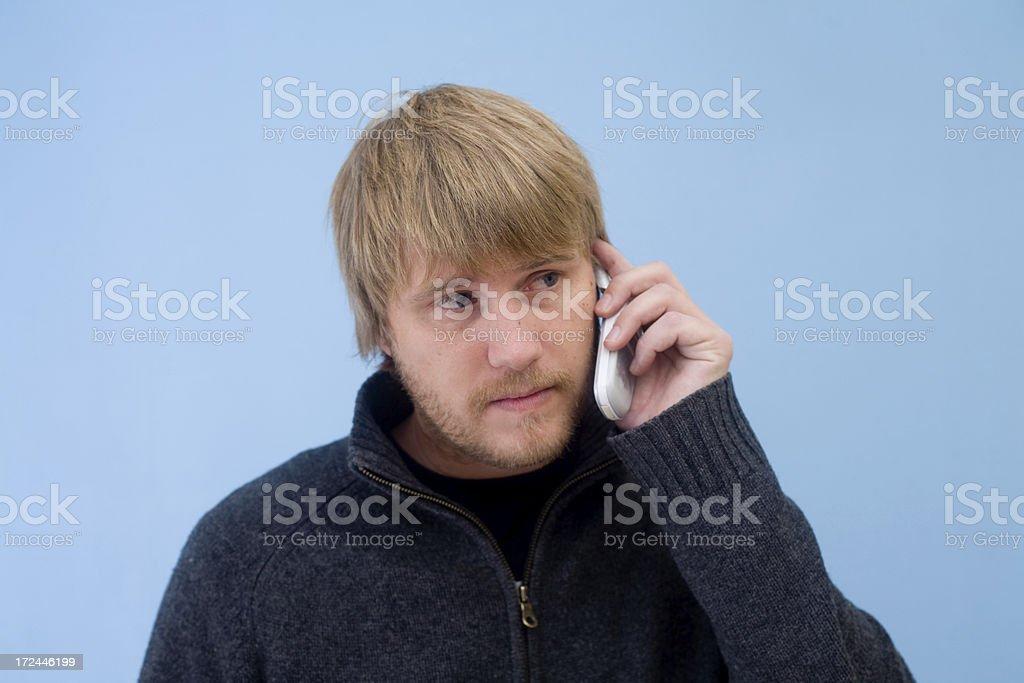 phonecall stock photo
