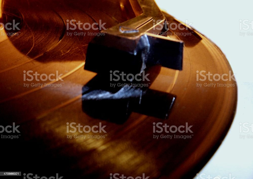 Phonograph Record Player royalty-free stock photo