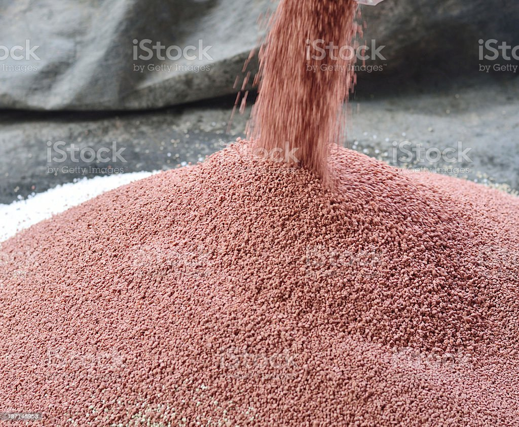 phosphate chemical plant fertilizer royalty-free stock photo