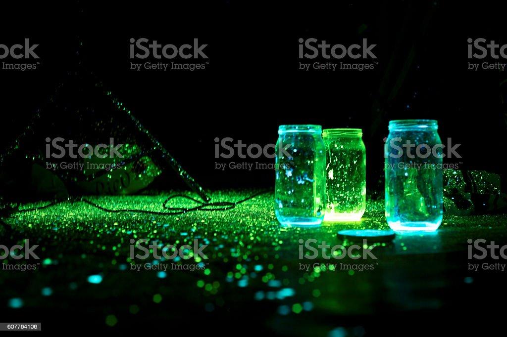 phosphphosphorescence stock photo