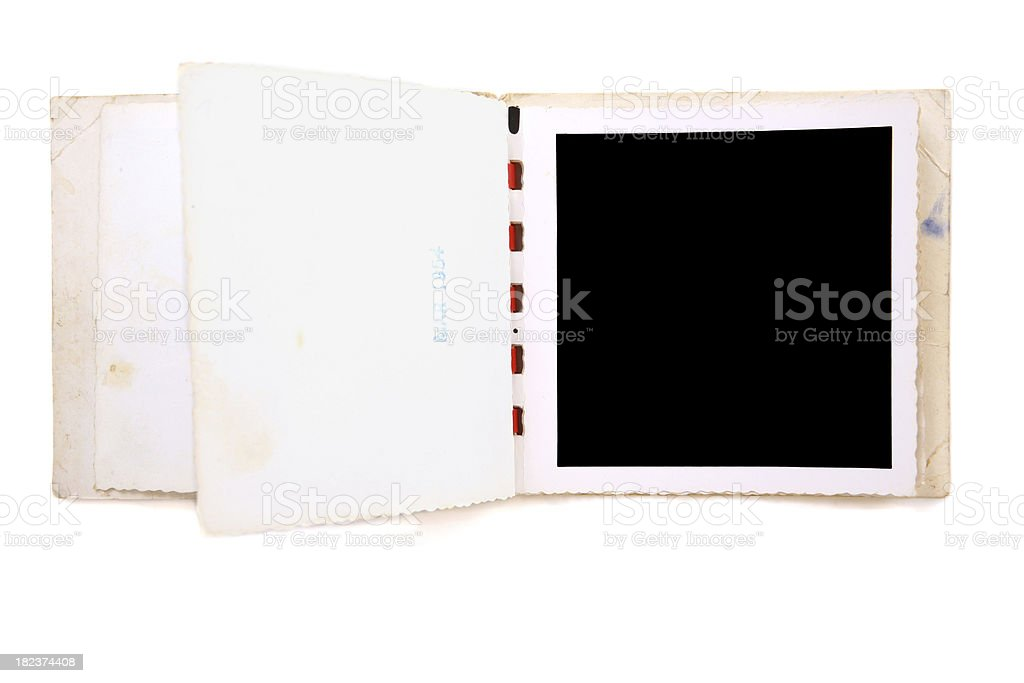 Photo Album Animate (5 of 8) - Page Turn royalty-free stock photo