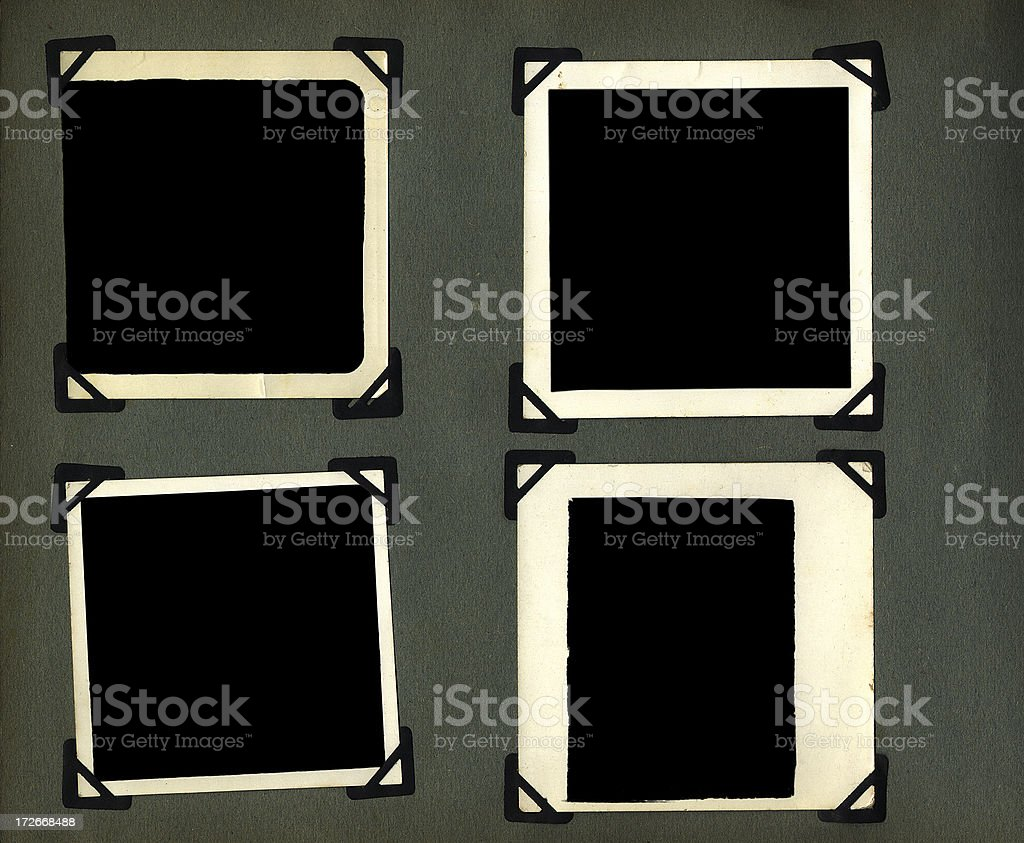 photo album page royalty-free stock photo