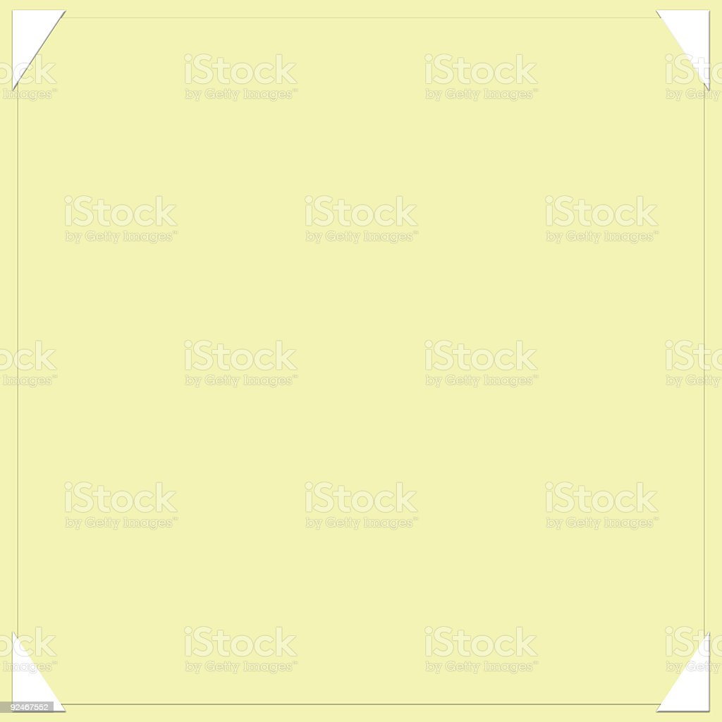 photo album page template royalty-free stock photo
