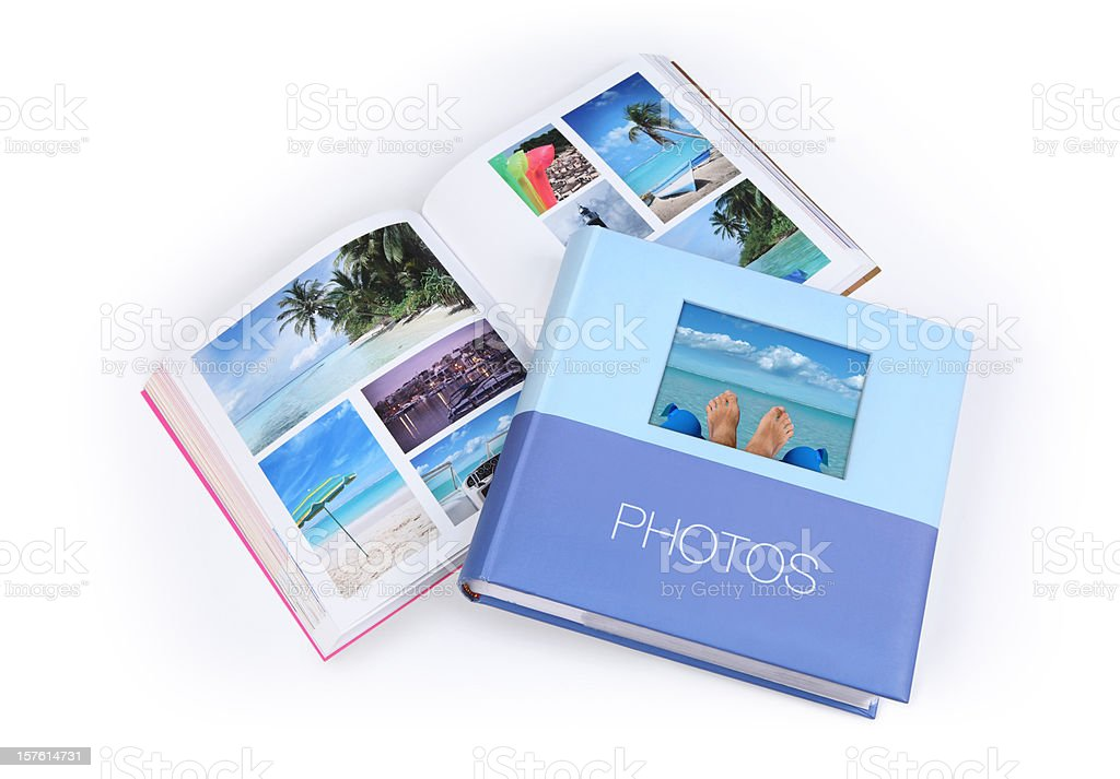 Photo Albums royalty-free stock photo