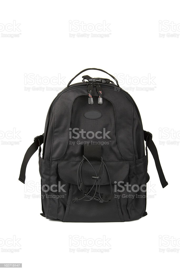 Photo backpack royalty-free stock photo