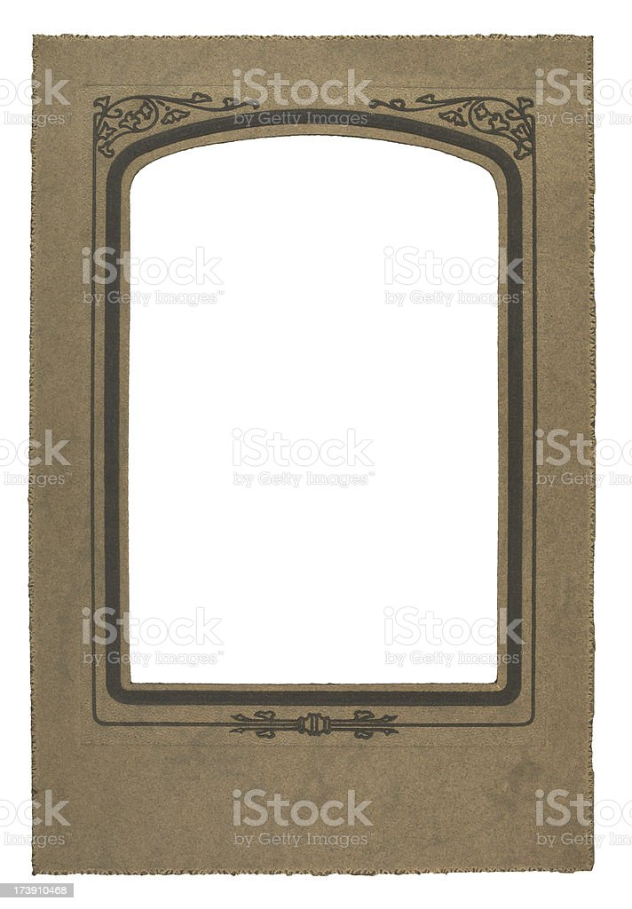 Photo Border royalty-free stock photo