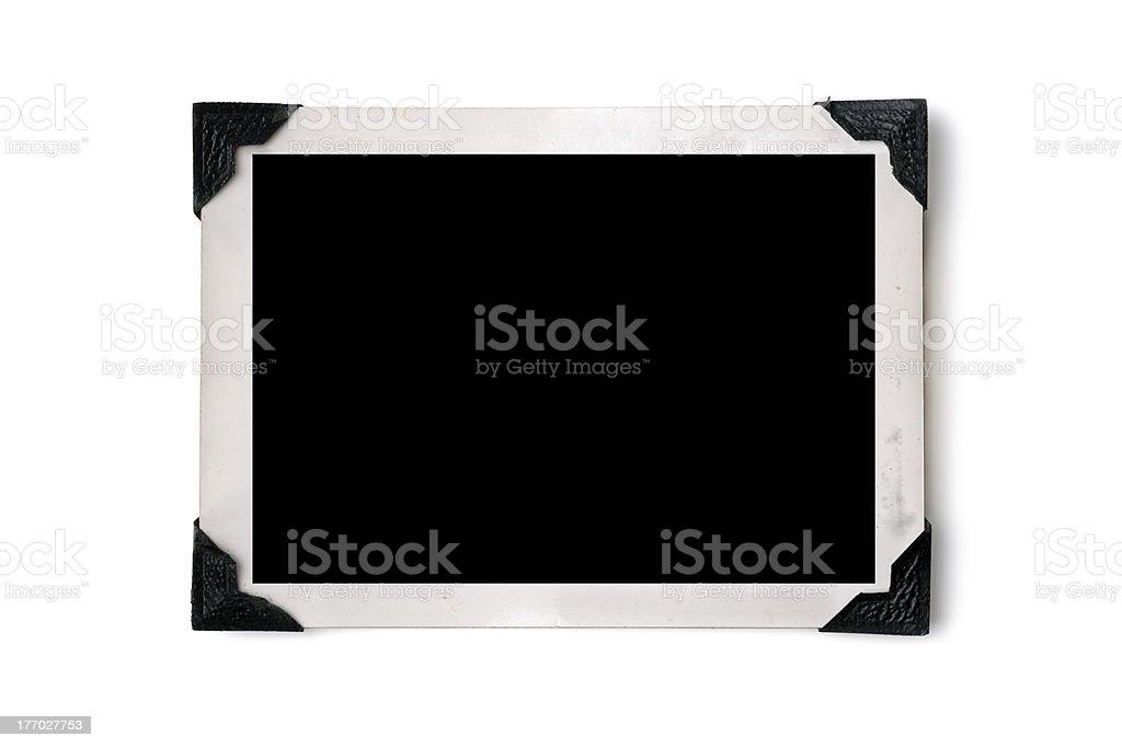Photo border stock photo