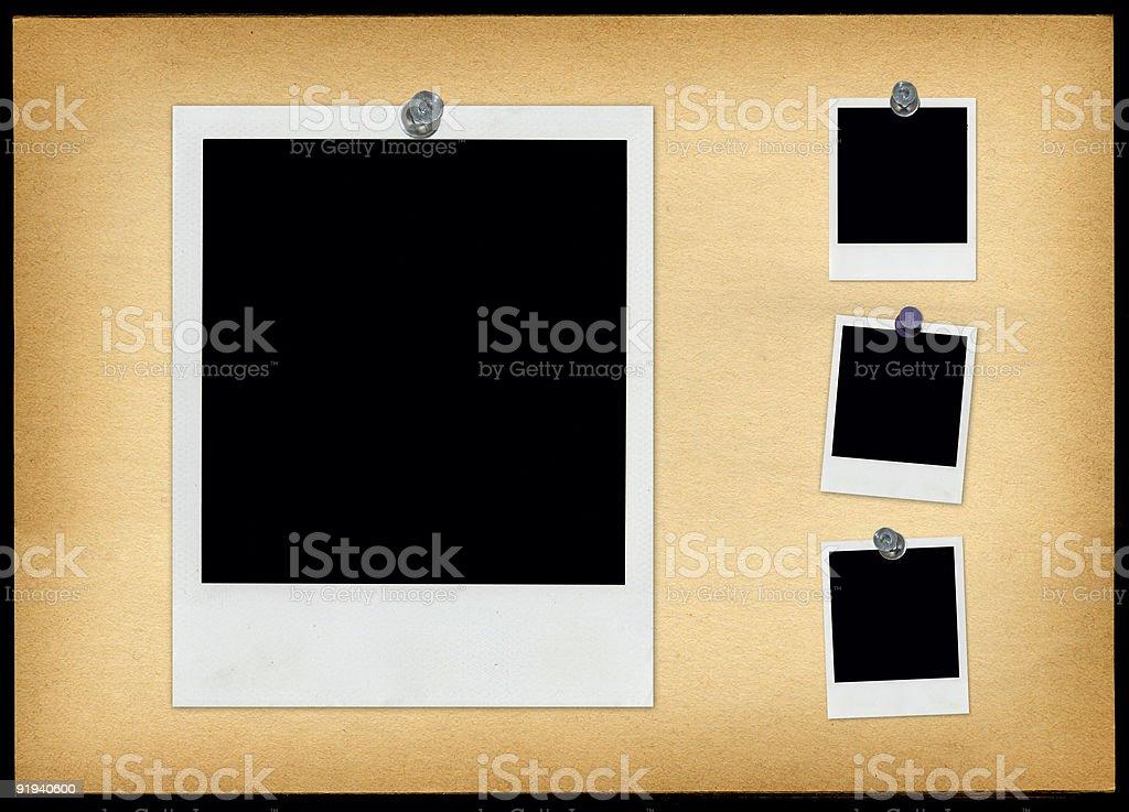 Photo Bulletin Board royalty-free stock photo