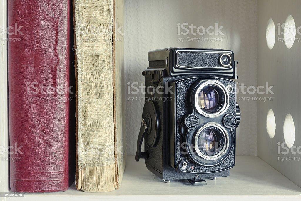 TLR photo camera royalty-free stock photo