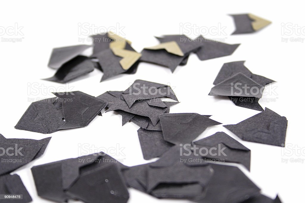 Photo Corners stock photo