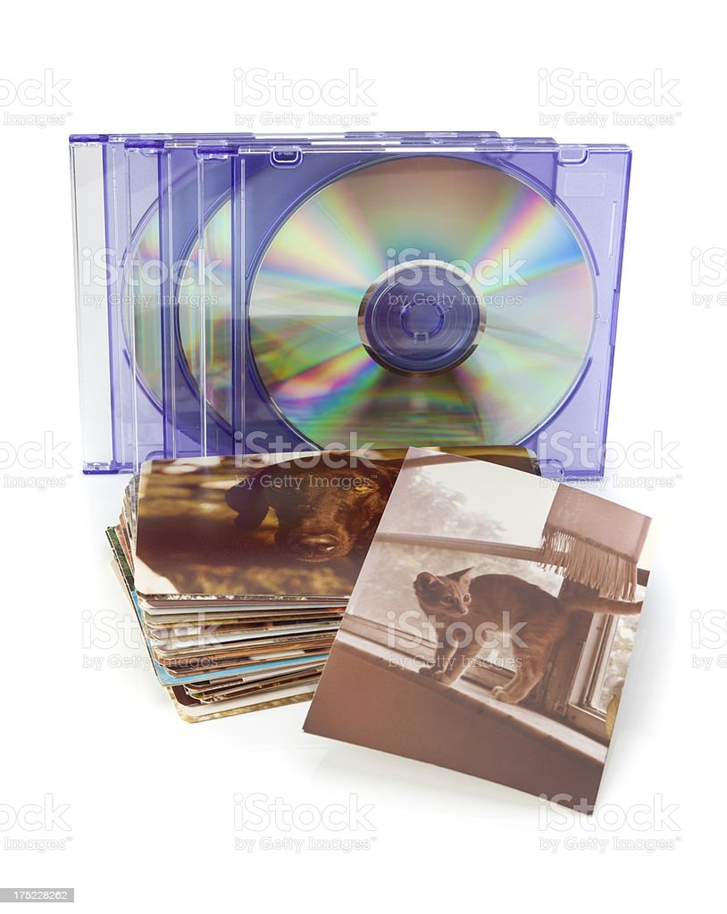 Photo - DVD Transfer stock photo