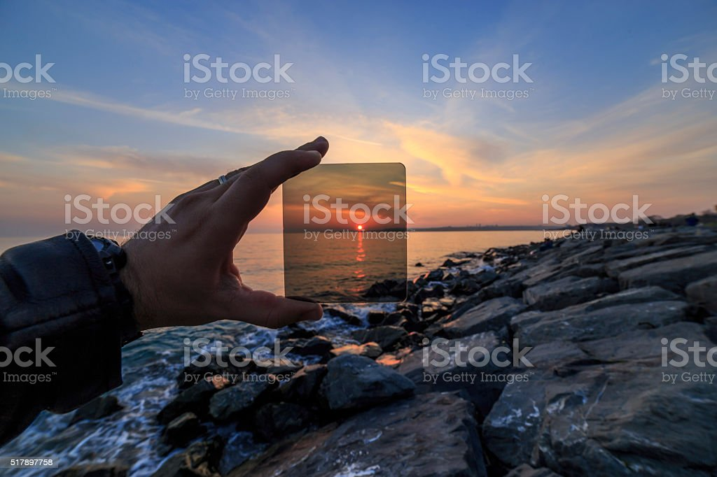 Photo Filter Effects stock photo