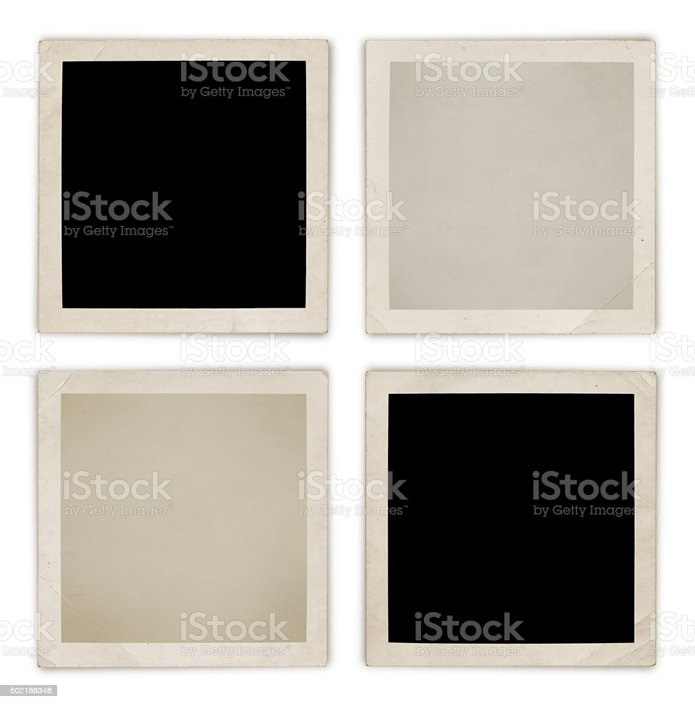 Photo Frame Collection (with 2 paths) stock photo