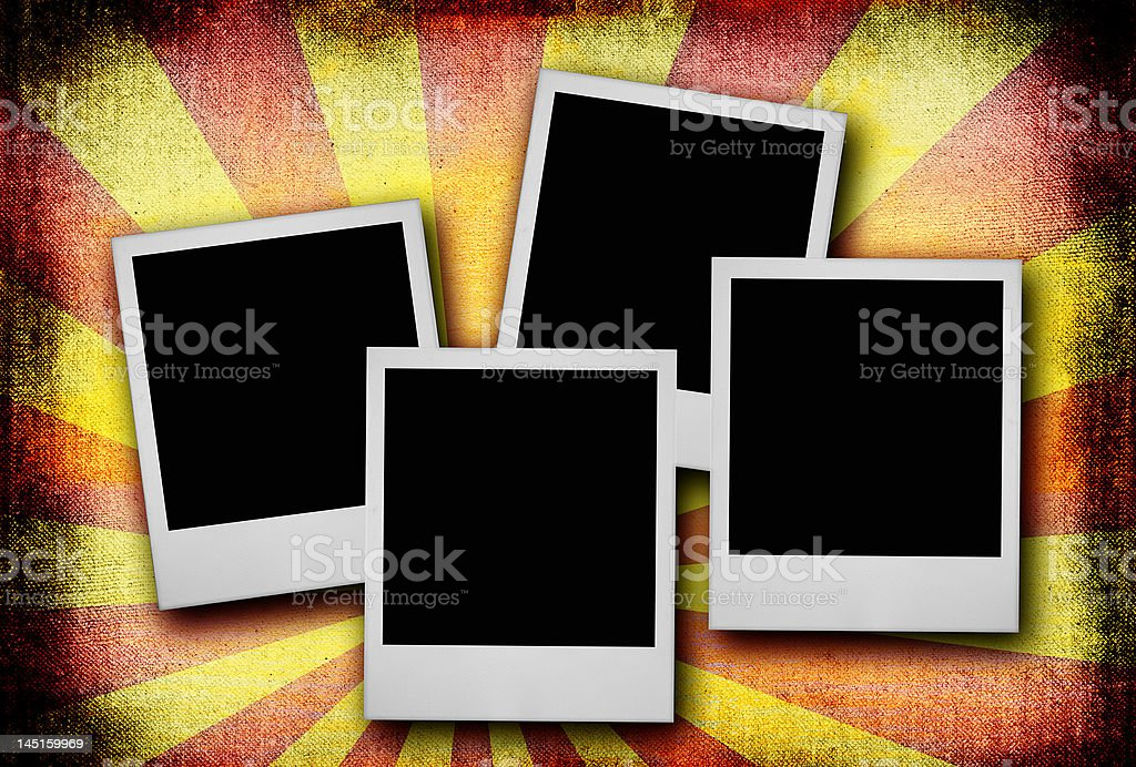 photo frames against dirty background royalty-free stock photo