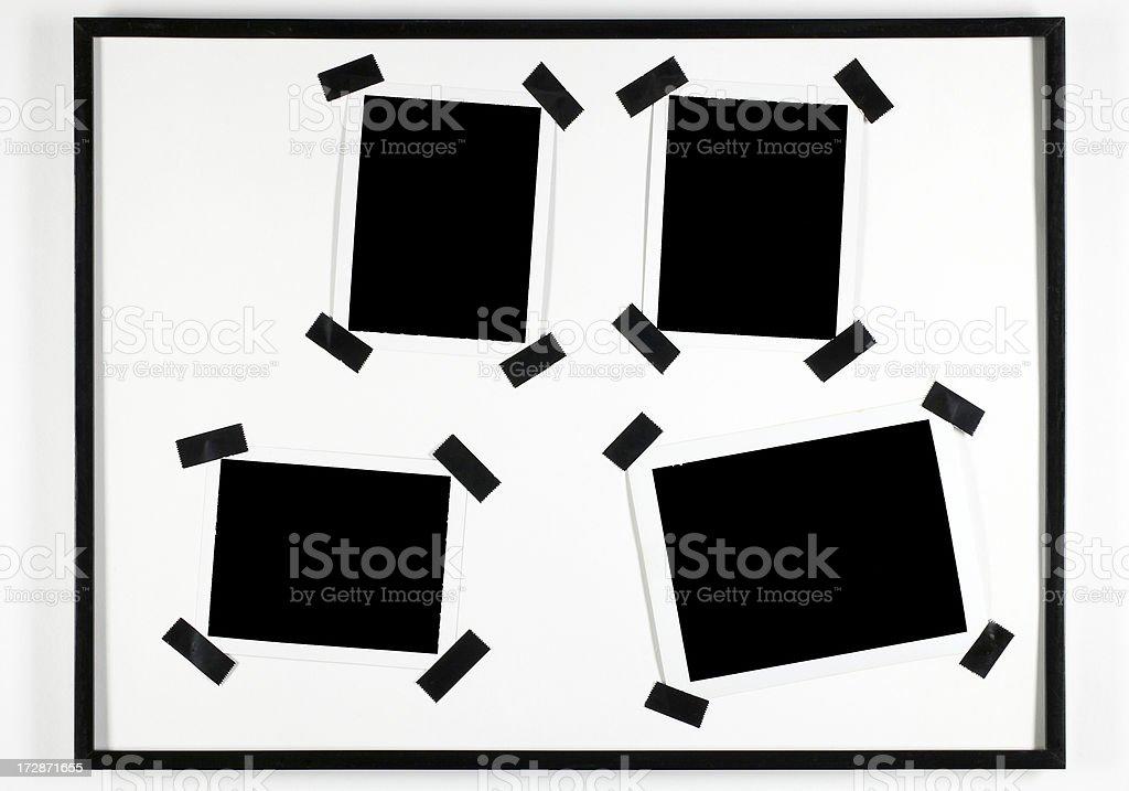 Photo frames royalty-free stock photo