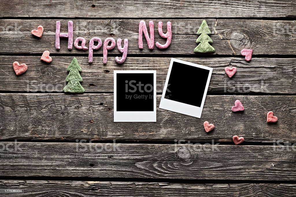 Photo frames with 2013 numbers royalty-free stock photo