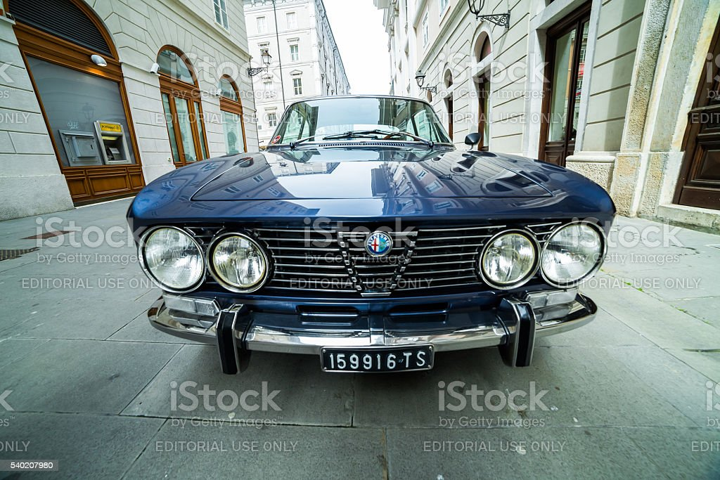 Photo of a Alfa Romeo GT model stock photo