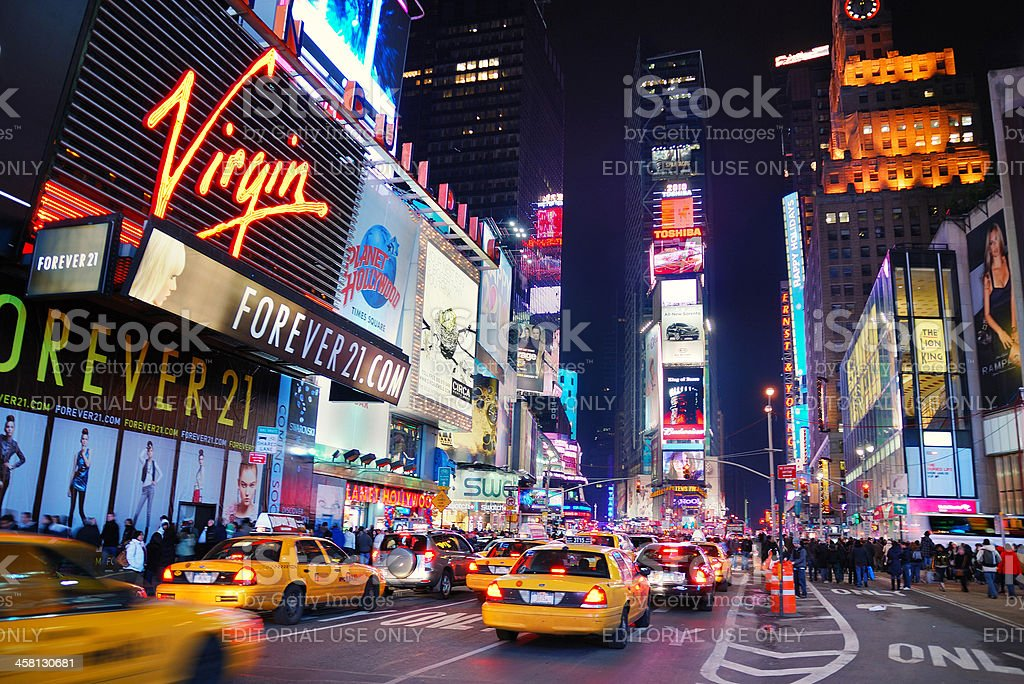 \'New York City, New York, USA - January 1, 2010: Times Square with...